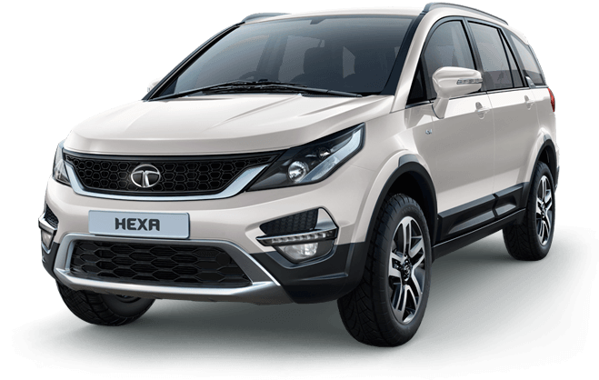 Tata Hexa Color Variant